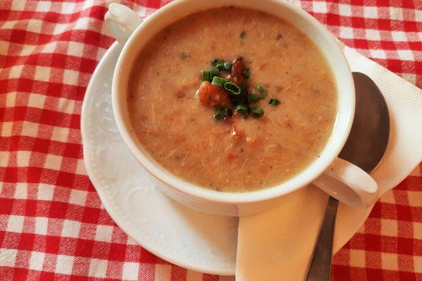 Eierschwammerl Suppe