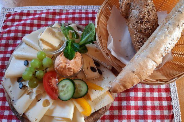 Gemischtes Käse-Brett